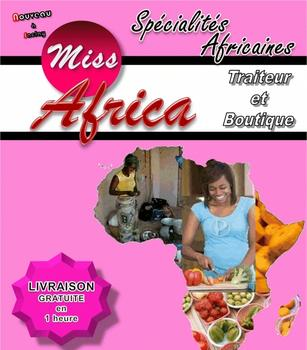 miss africa restaurant traiteur africain annonces annonce service. Black Bedroom Furniture Sets. Home Design Ideas